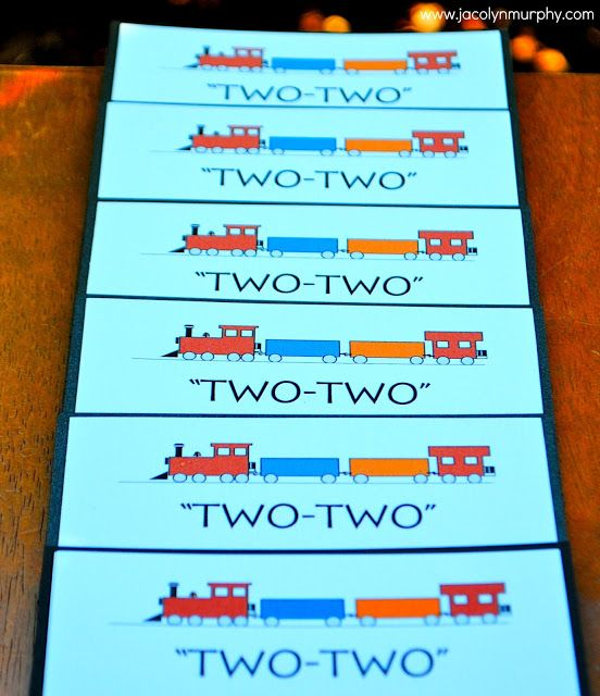 All Aboard! Train Party for my favorite TWO TWO year old