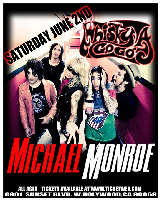 Welcome to the World Famous Whisky A Go Go June 2012