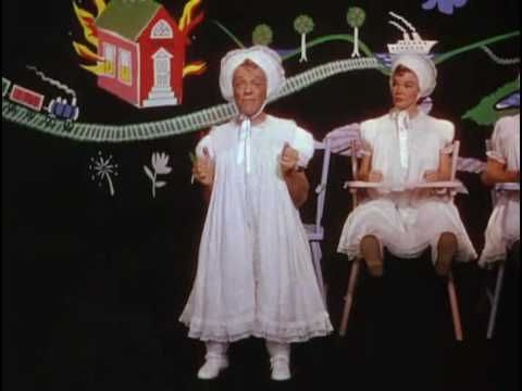 Triplets - Fred Astaire, Nanette Fabray, Jack Buchanan from Bandwagon  Very funny, love this movie.