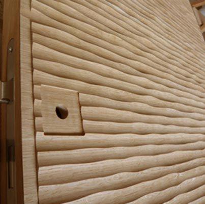 Doorset in Wood - Gougé 1