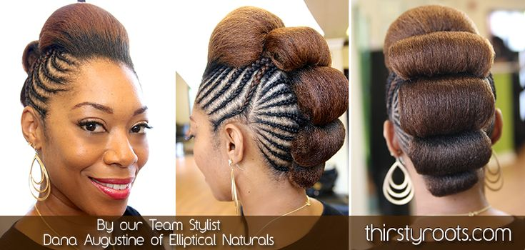 Braided Bump Hairstyle | thirstyroots.com: Black Hairstyles and Hair Care