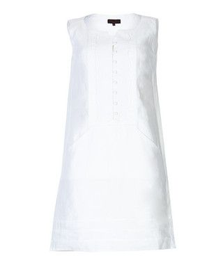 Corrine+white+linen+dress+by+Great+Plains+on+secretsales.com