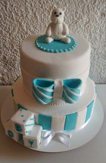 Torta oso y moño