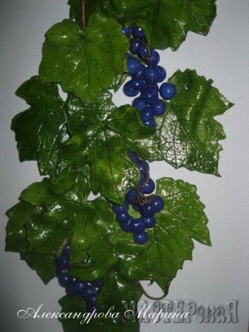 панно Лоза винограда