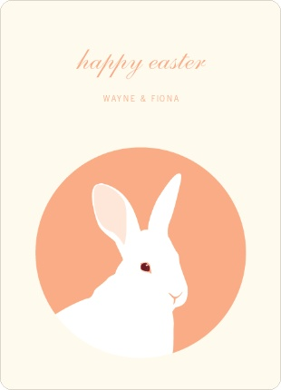 easter bunny easter card | paper culture: Design Ideas Easter, Winning Designer, Easter Card, Paper Culture, Bold Easter, Easter Bunny
