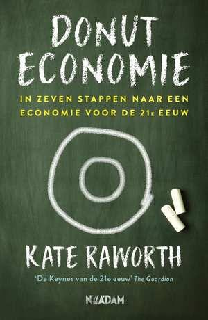 Donuteconomie-Kate Raworth-eBook-cover voorzijde