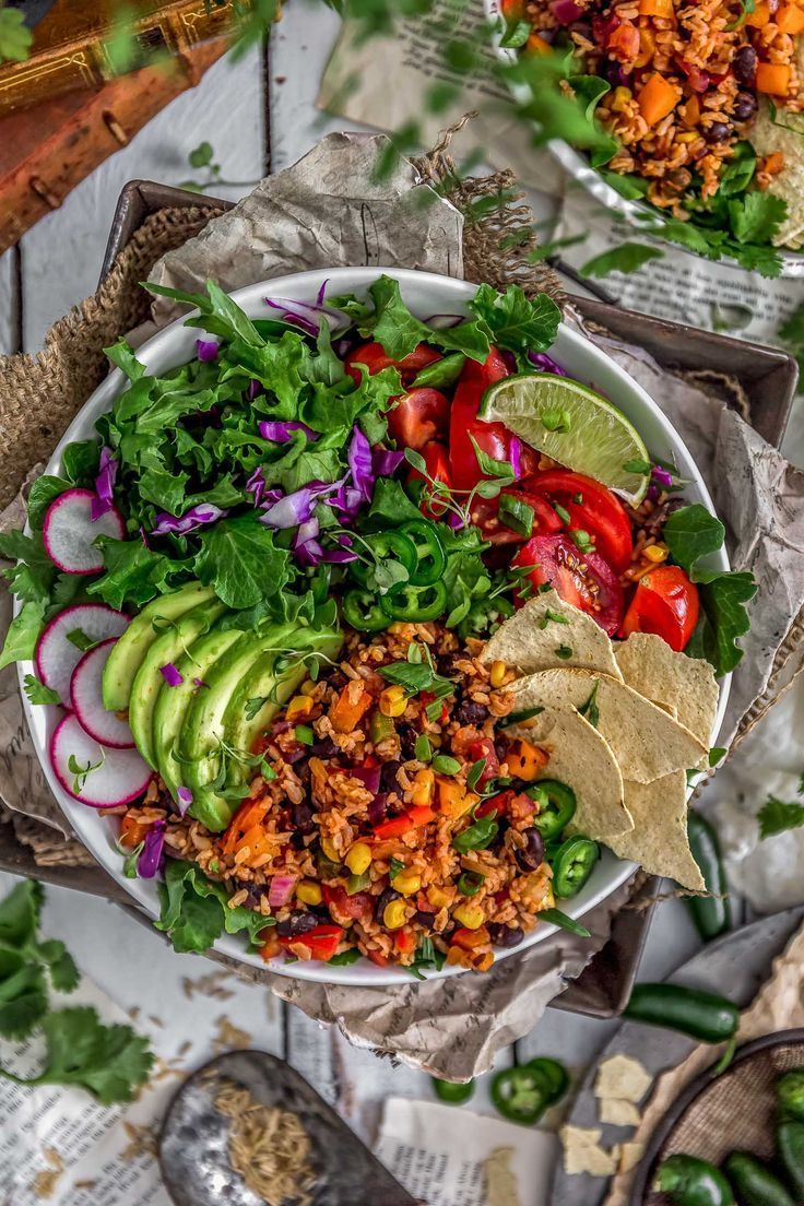 Healthy Mexican Fried Rice Recipe Recipes Sides Pinterest