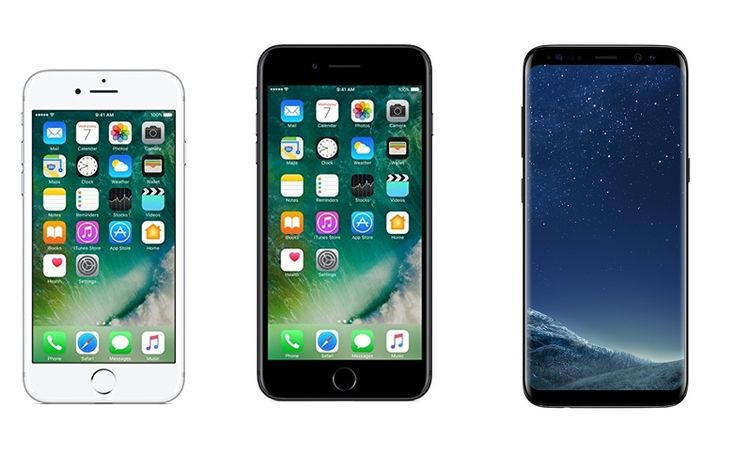 iPhone 7 vs iPhone 7 Plus vs Samsung Galaxy S8: Price in India Specifications Features compared