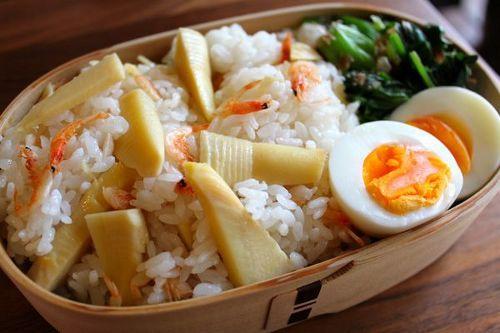 桜海老と筍ちらし寿司弁当