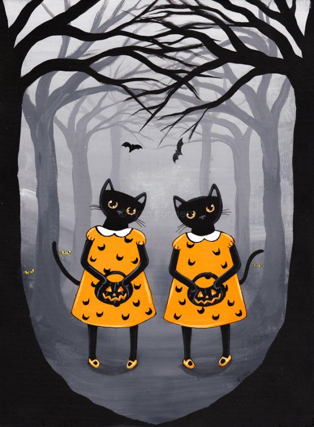 The Halloween Twins - Ryan Conners - Kilkenny Cats