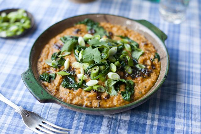 Dahl with Spinach and Tomatoes   DonalSkehan.com   HomeCooked Kitchen Blog
