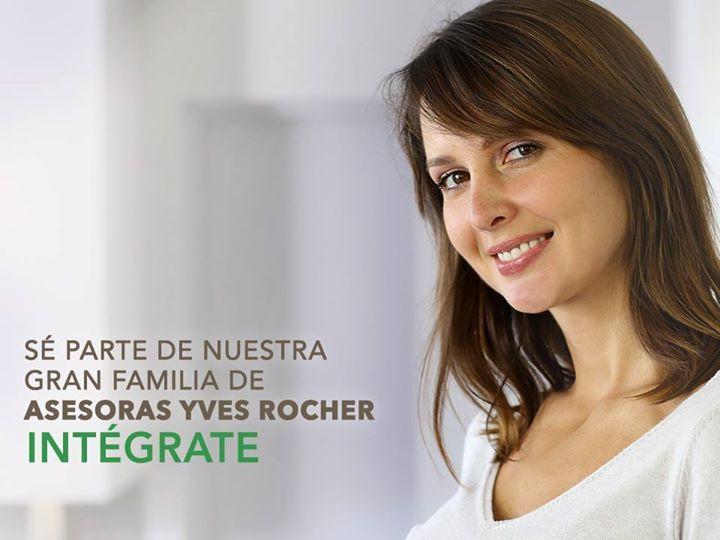 Regístrate como vendedora de Yves Rocher (Haz clic en la imagen para saber cómo)