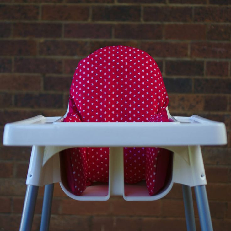 IKEA High Chair Cover To Fit Antilop Pyttig Cushion Insert - First Birthday Highchair Decor - Pear of Stitches - Pink & White Stars by PearOfStitches on Etsy https://www.etsy.com/au/listing/537532601/ikea-high-chair-cover-to-fit-antilop