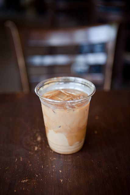 Iced Latté from jj bean / photo byy Joey Armstrong
