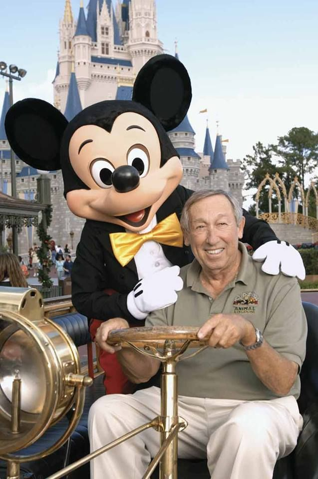 """Mickey is a symbol of American hopefulness: We'll get through this, we'll whistle through bad times. Americans put their dreams into this little character. He never lost his cheerfulness, never became a cynic. People identify with his personality, his eternal optimism."" ~ Roy E. Disney (born this day in 1930)"