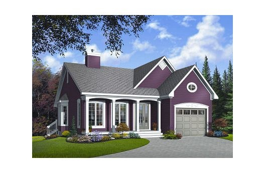 Cute small house plan