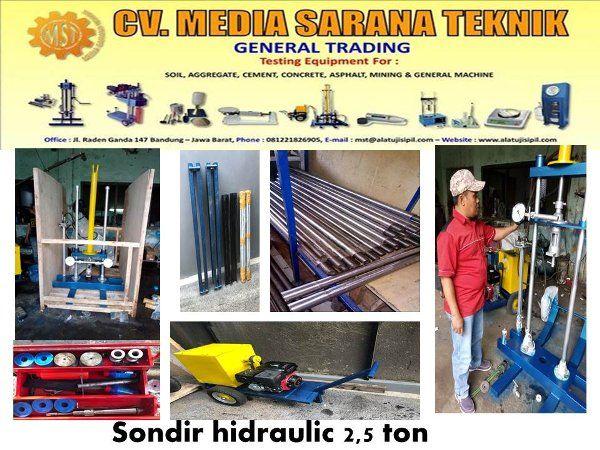 Beli Mesin Sondir 2 5 Ton Manual Dengan Harga Murah Rp35 000 000 Di Lapak Cv Media Sarana Teknik Cv Media Sarana Teknik Bandung Bi Mesin Teknik Industrial