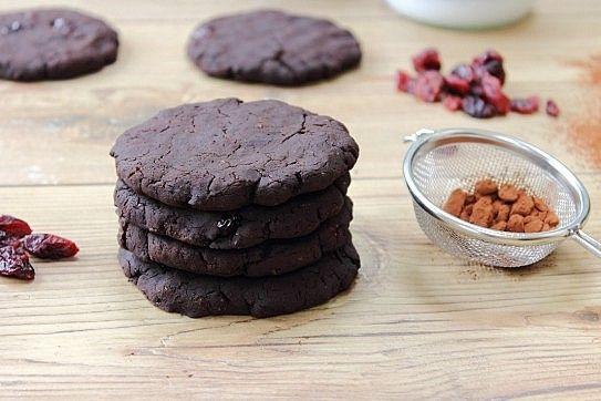 Black Bean Protein Cookies. A brownie in cookie form!