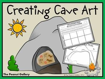 Your students will enjoy the opportunity to create their own cave art using symbolism representative of their families/clans. ($)