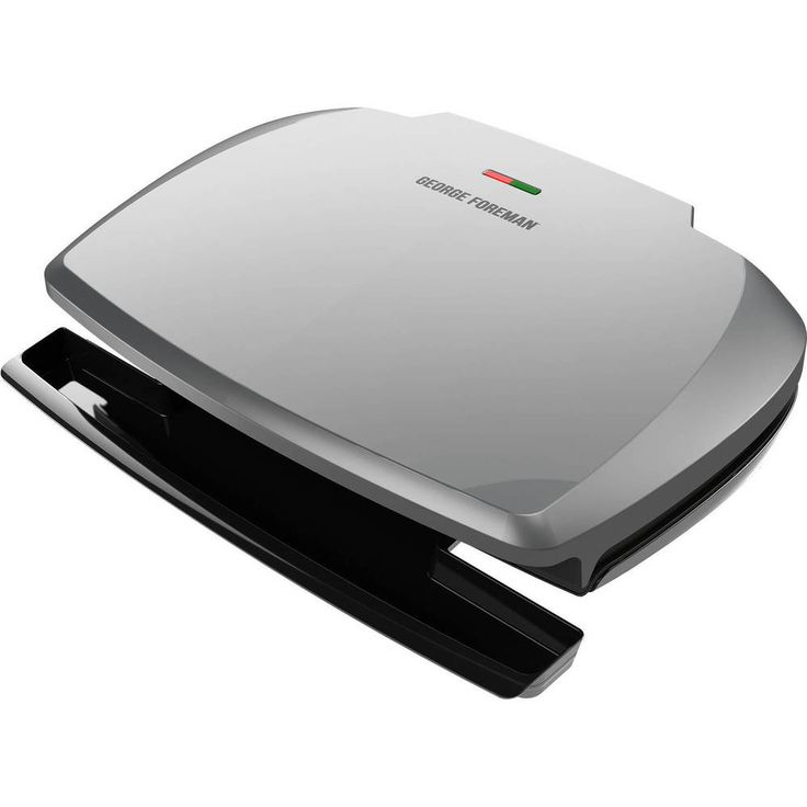 George Foreman Grill Indoor 9 Serving Classic Plate Barbeque Cooker Kitchen, NEW #GeorgeForeman