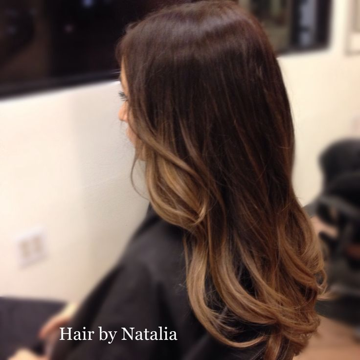 Balayage for Brunettes. It was a dramatic change for my client and she loved it! www.hairbynatalia.com 720-917-5165, Denver CO. #balayagedenver