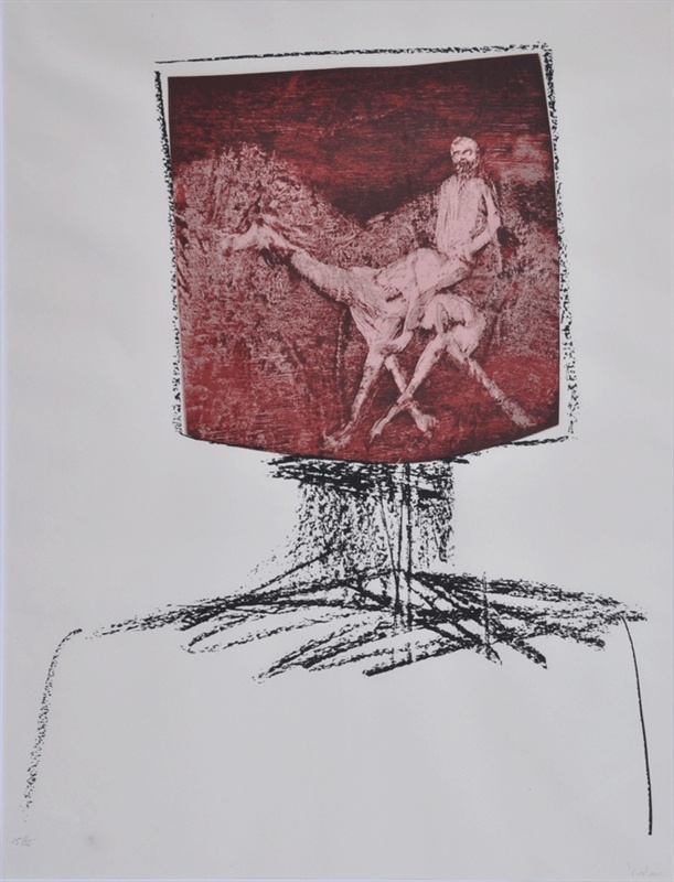 Ned Kelly 1964 by Sidney Nolan