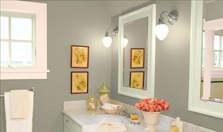 bathroom paintWall Colors, Bathroom Colors, Cute Ideas, Paint Colors, Painting Colours, Nice Painting, Painting Ideas, Bathroom Decor, Bathroom Painting Colors