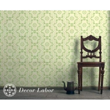 our stencils, vintage paint roller pattern - Retro II.