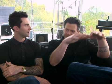 Blake Shelton & Adam Levine - Love, love, love both of them.