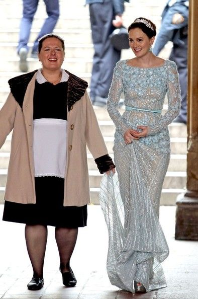 Dorota and Blair and that beautiful dress! Ugh, I don't think I will ever get over how cute it is.