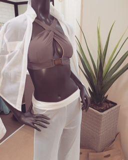 #meshcoverup#coverup#beachwear#zipbottom#oneshoulderbikini#bikinibottom#swimwear#bikini#marinaswimwear#crossbikini#pushupbikini#bikinitop#resort#mocha#style#luxe#luxefashion#exclusive