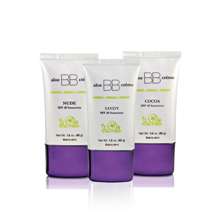 Aloe BB Crèmea with SPF 10 was created exclusively for flawless by Sonya™ to hydrate, prime, conceal and offer sun protection creating a soft, luminous glow, leaving the skin looking natural and flawless.