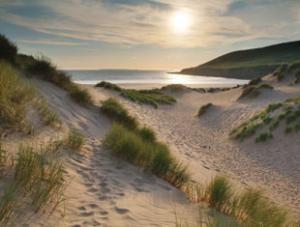 Saunton Sands Beach, North Devon