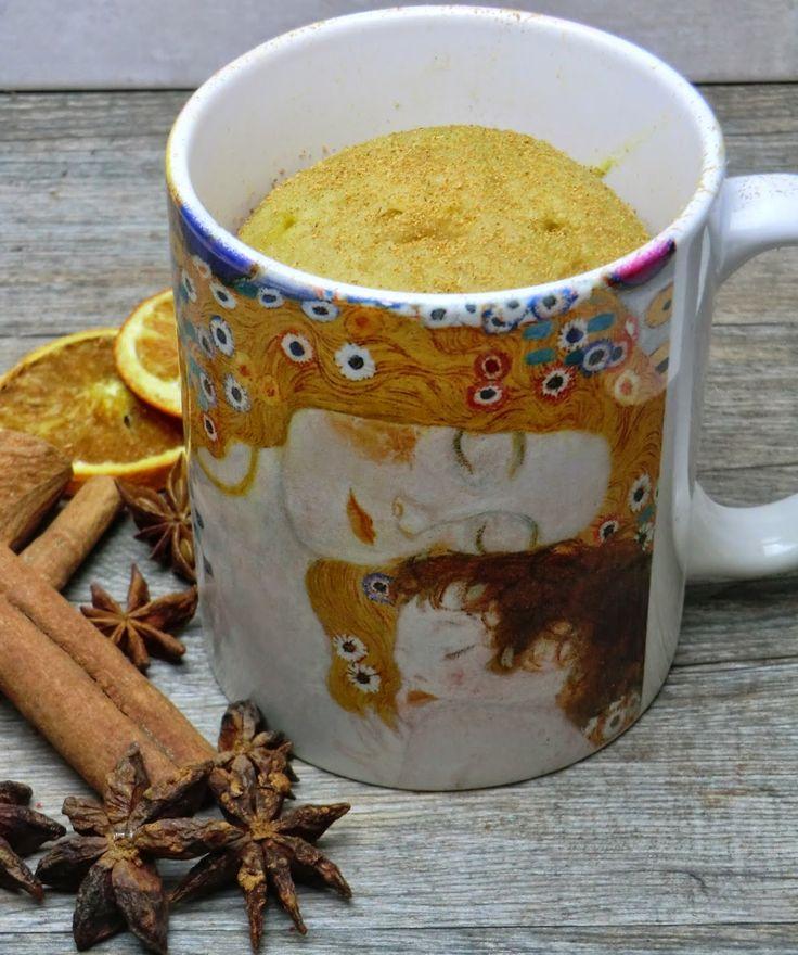 Mug-cake façon pain d'épices sans gluten et sans lactose