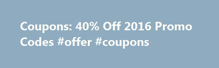 Coupons: 40% Off 2016 Promo Codes #offer #coupons http://coupons.remmont.com/coupons-40-off-2016-promo-codes-offer-coupons/  #joann fabrics coupons # Joann.com Coupons Promo Codes How to Use Joann Coupons: After filling your bag with the items you plan to purchase on this order, proceed to the checkout page to apply discounts. Enter the information in the box marked Promotion Code that is located directly above the total for the order. Don t forget to click the Apply button to apply the…