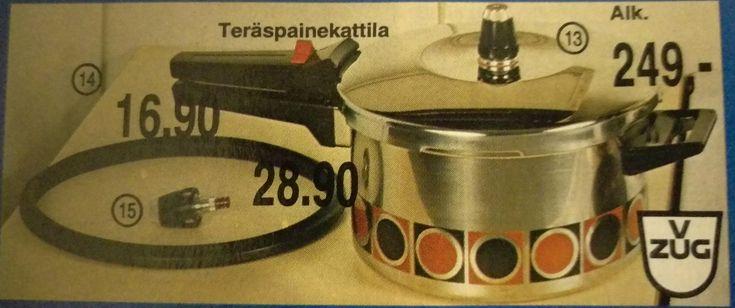 Anttilan postimyyntikuvasto kevät-kesä 1980