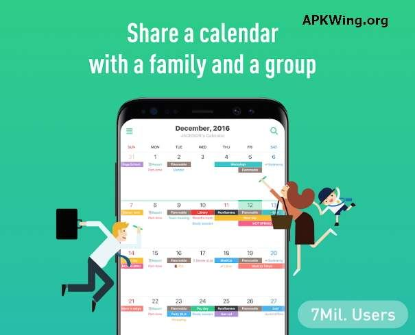 Timetree Free Shared Calendar 4 4 8 Apk Download Productivity