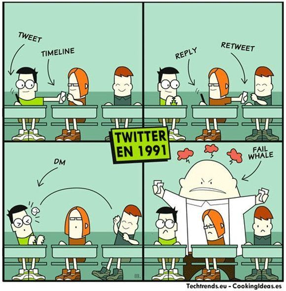 Twitter in 1991 [Pic] | Geeks are Sexy Technology News