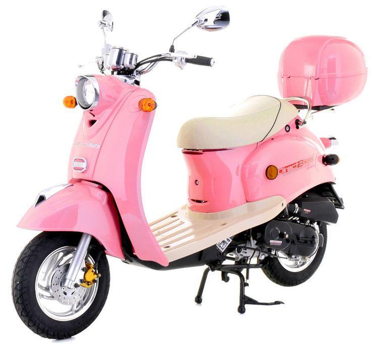 50cc Retro Scooter