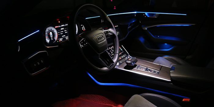 Oem Design Multi Colors Ambient Light For Audi A6 C8 2019 In 2020