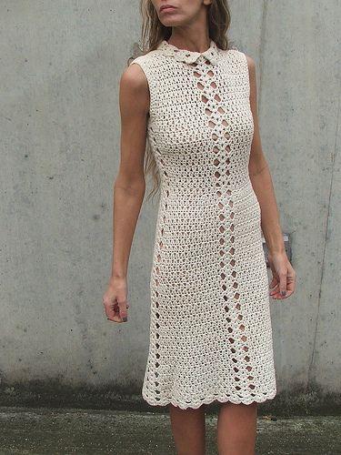 Retro crochet dress 1 | by ileaiye8