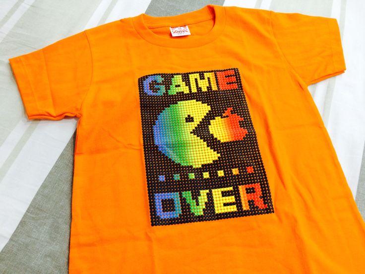 Apple vs Pac Man T Shirt