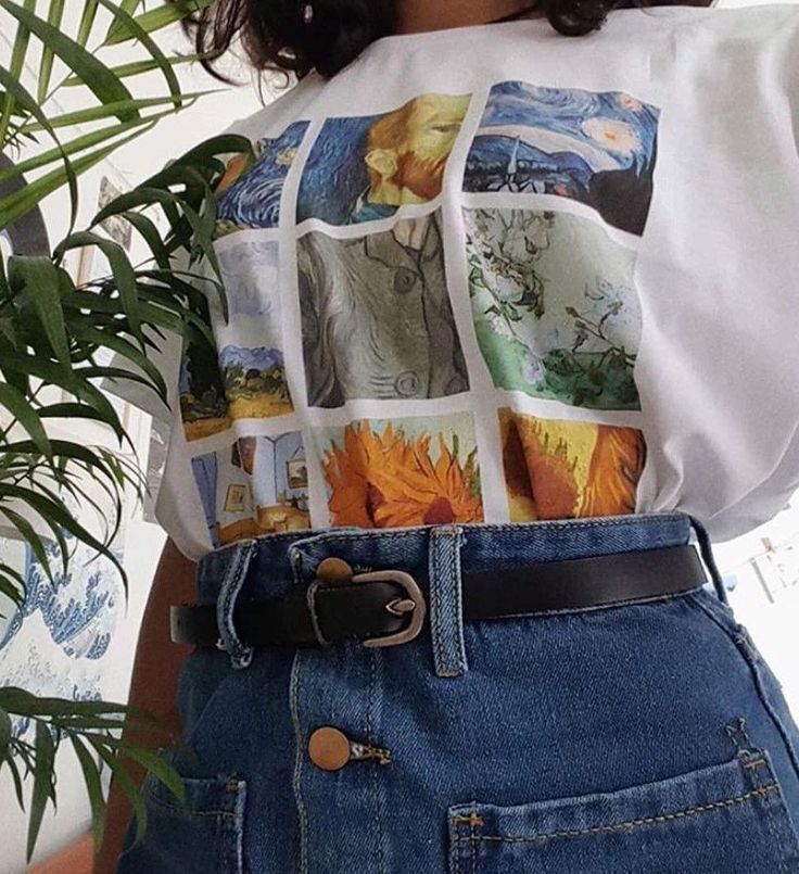 Van Gogh Paintings T-shirt – #shirts #tops #fashion