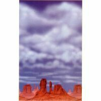 A673001 - Scene Setter Red Rock/Big Sky Scene Setter Wall Red Rock / Big Sky (120cm x 12m). Please note: approx. 14 day delivery time.