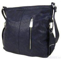 Modrá crossbody kabelka MAHEL 67-MH