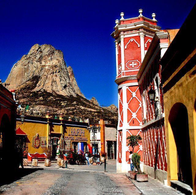 Peña de Bernal, Querétaro, México. Foto: Pinterest