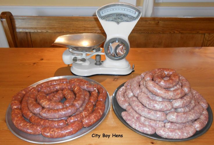 Making Italian Sausage Hot & Sweet recipes