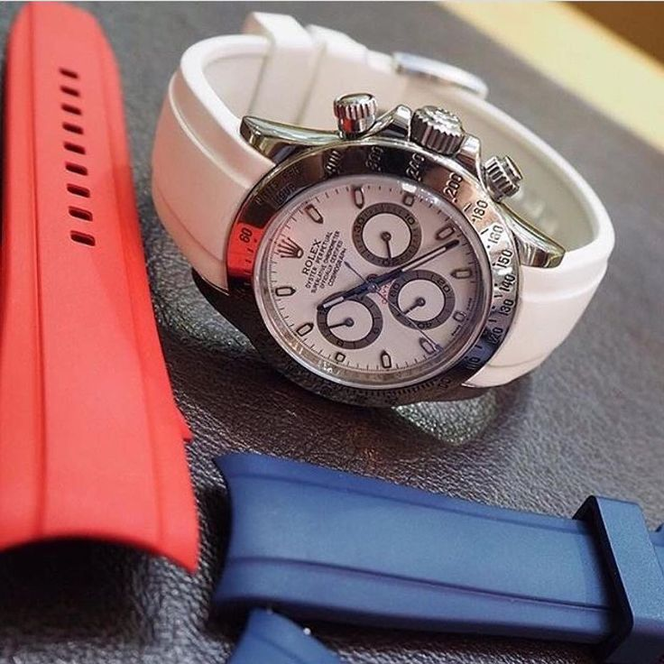 Everest Rubber replacement watch band for Rolex