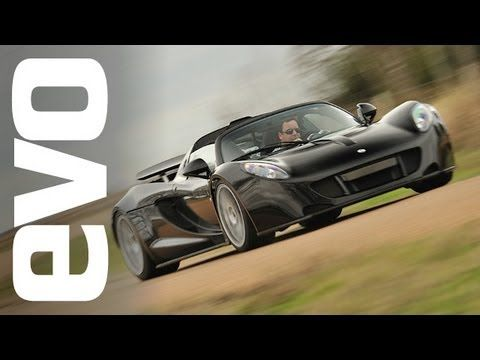 Hennessey Venom GT review - evo Magazine