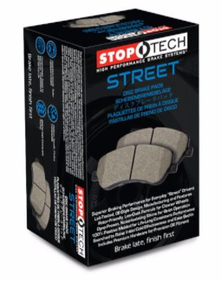StopTech 2005-2011 Volvo V50 S40 (300mm)/ 2006-2013 Volvo C70 C30 T5 Mazda 3 5/ 2005-2016 Ford Focus/ 2013-17 Ford Escape Front Street Brake Pads